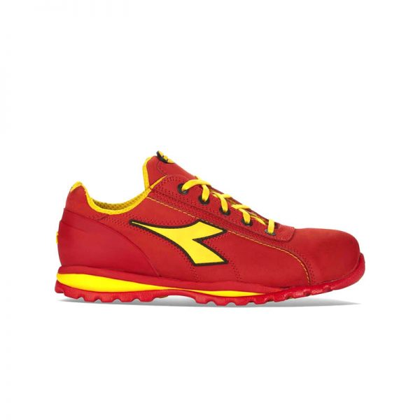 ZAPATILLAS-DIADORA-GLOVE-II-LOW-S3-HRO-SRA-ROJO