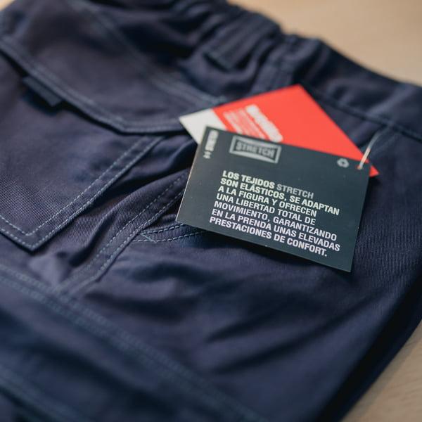 Pantalon Stretch Velilla 103002s Workima
