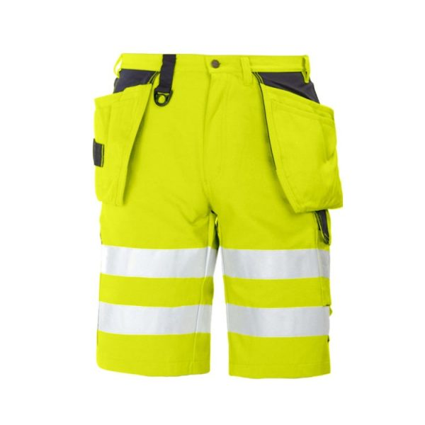 bermuda-projob-alta-visibilidad-6503-amarillo-fluor-negro