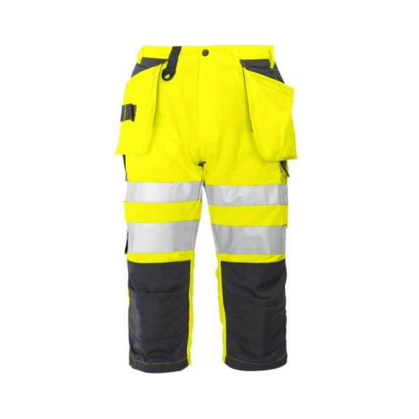 bermuda-projob-alta-visibilidad-6510-amarillo-fluor-marino