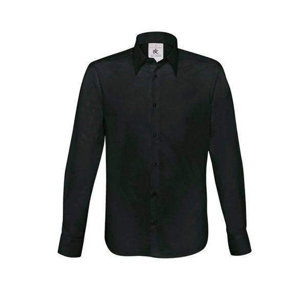 camisa-bc-london-bcsm580-negro