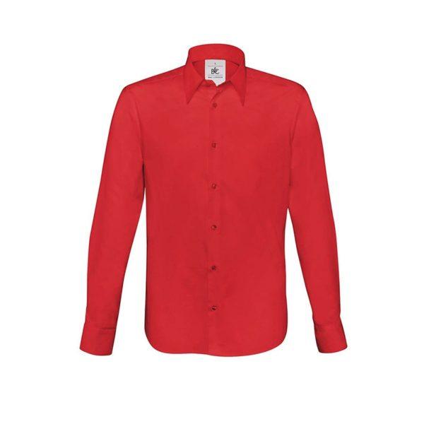 camisa-bc-london-bcsm580-rojo-profundo