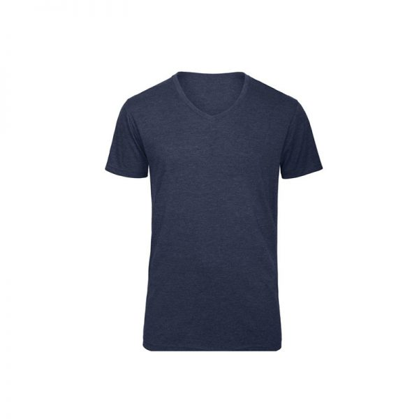 camiseta-bc-bctm057-triblend-v-azul-marino-heather