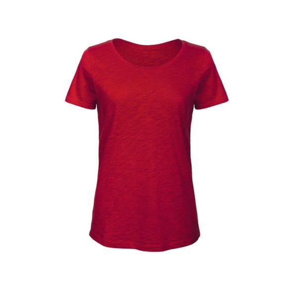 camiseta-bc-bctw047-inspire-slub-t-rojo