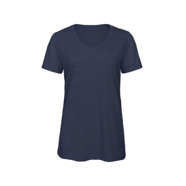 camiseta-bc-bctw058-triblend-v-azul-marino-heather