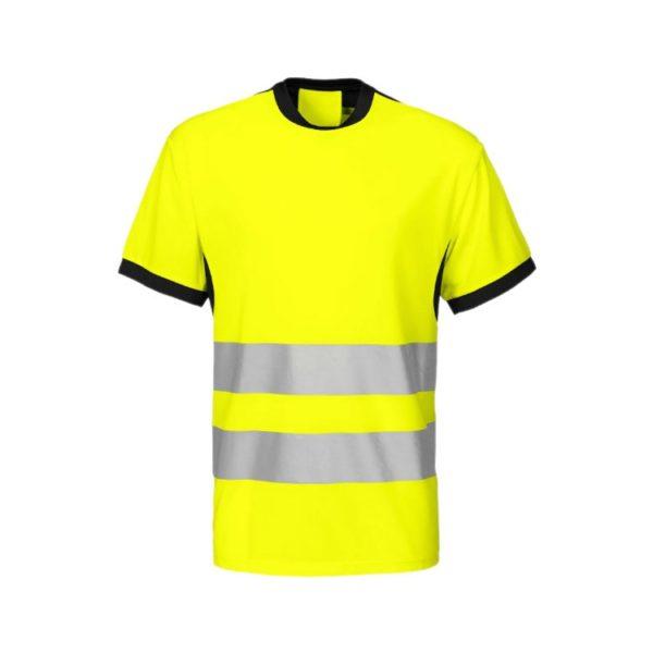 camiseta-projob-alta-visibilidad-6009-amarillo-fluor-negro