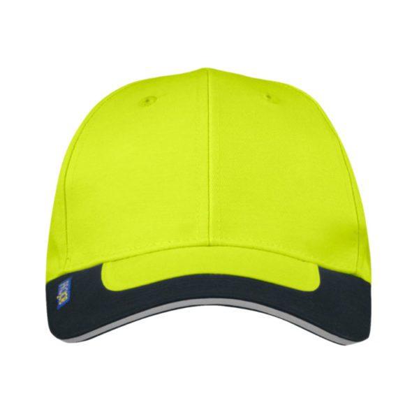 gorra-projob-alta-visibilidad-9013-amarillo-fluor-negro