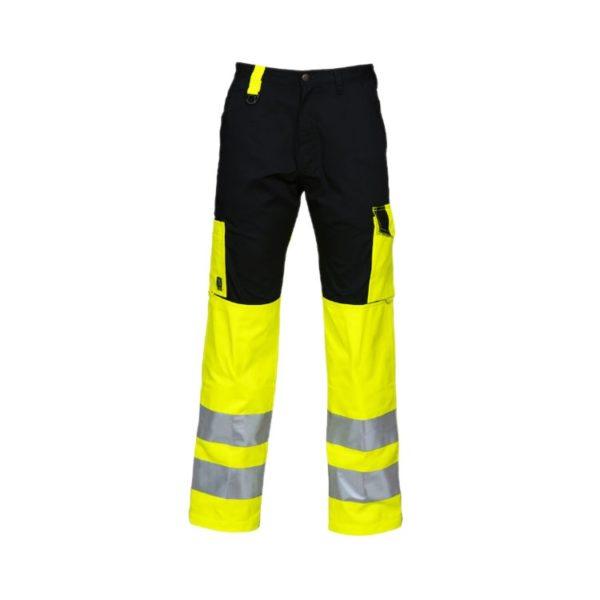 pantalon-projob-alta-visibilidad-6501-amarillo-fluor-negro
