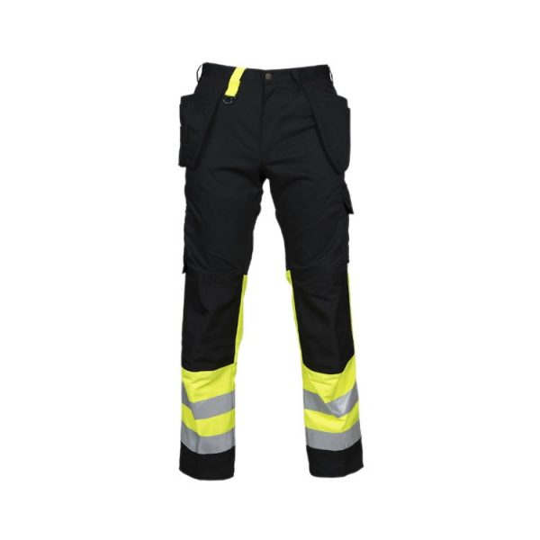 pantalon-projob-alta-visibilidad-6502-amarillo-fluor-negro