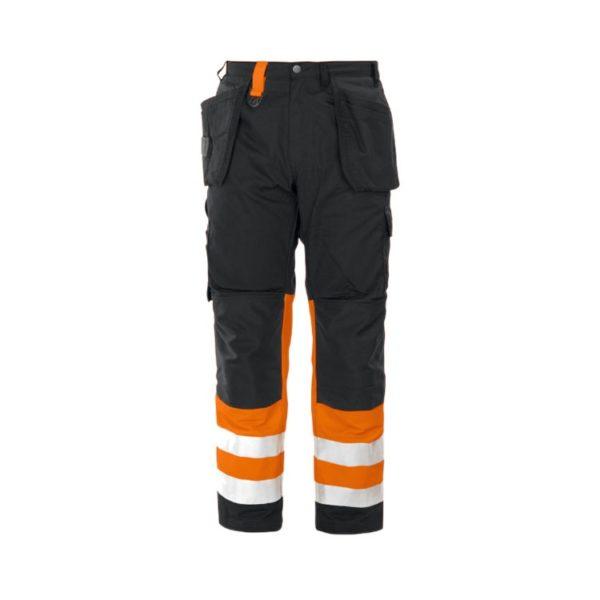 pantalon-projob-alta-visibilidad-6502-naranja-fluor-negro