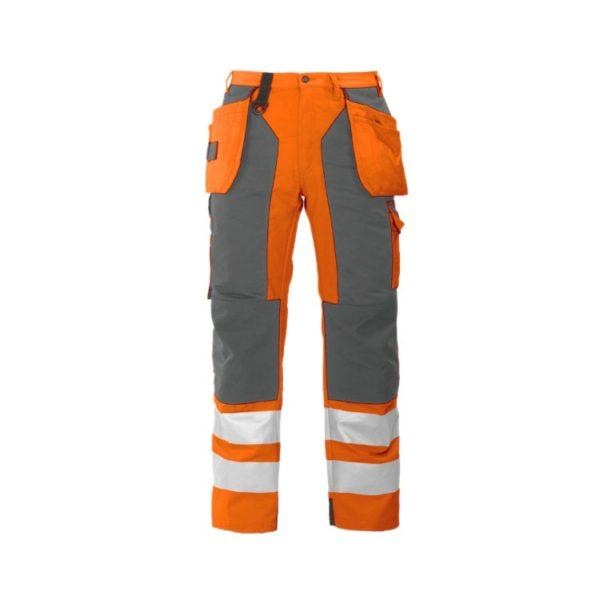 pantalon-projob-alta-visibilidad-6506-naranja-fluor-gris