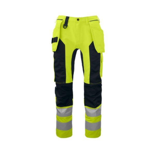 pantalon-projob-alta-visibilidad-6513-amarillo-fluor-negro