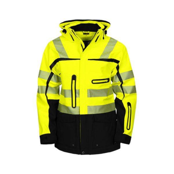 parka-projob-alta-visibilidad-6417-amarillo-fluor-negro