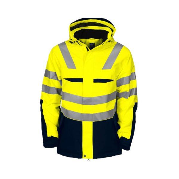 parka-projob-alta-visibilidad-6418-amarillo-fluor-marino
