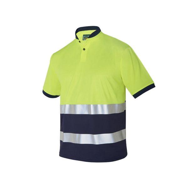 polo-monza-alta-visibilidad-4766-amarillo-fluor-marino