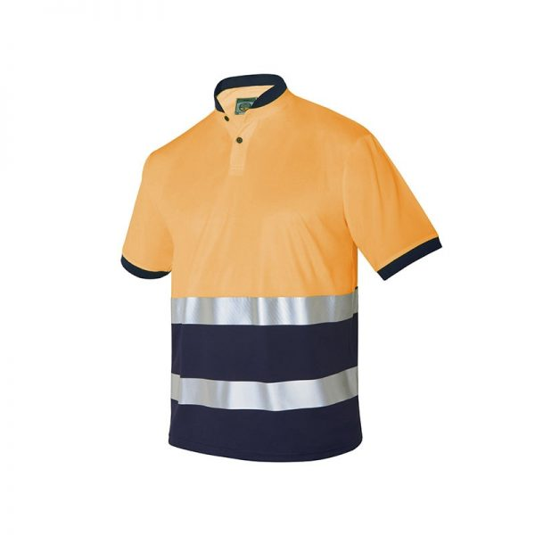 polo-monza-alta-visibilidad-4766-naranja-fluor-marino