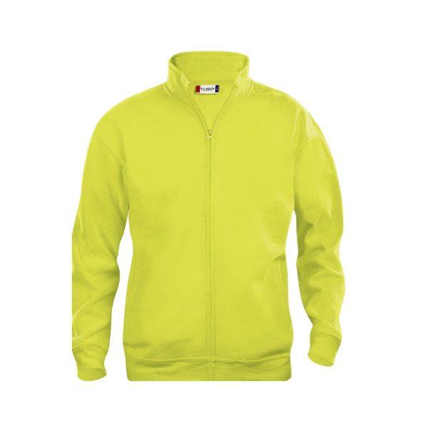 sudadera-clique-basic-cardigan-junior-021028-amarillo-fluor