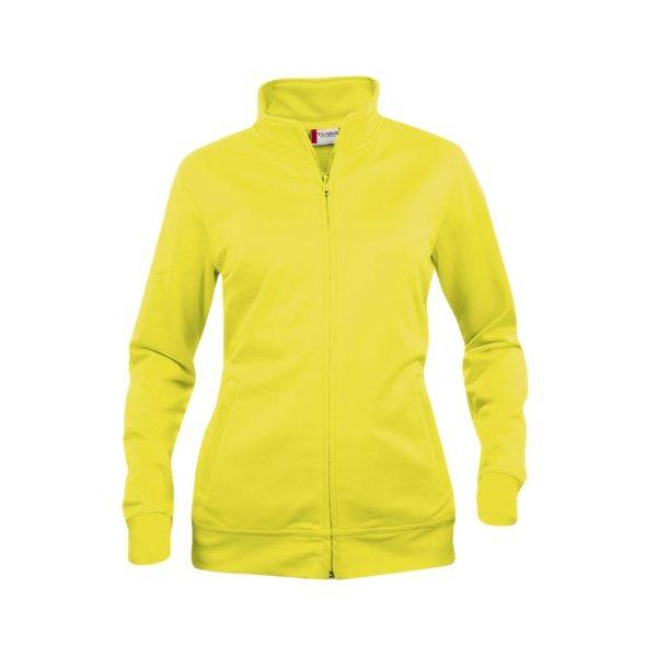 sudadera-clique-basic-cardigan-ladies-021039-amarillo-fluor