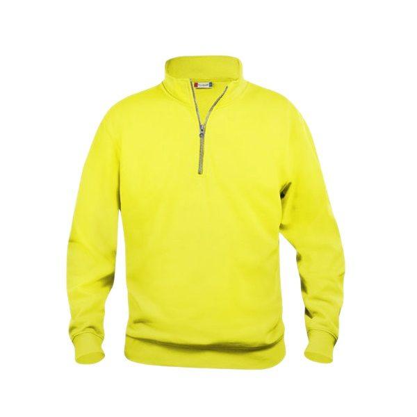 sudadera-clique-basic-half-zip-021033-amarillo-fluor