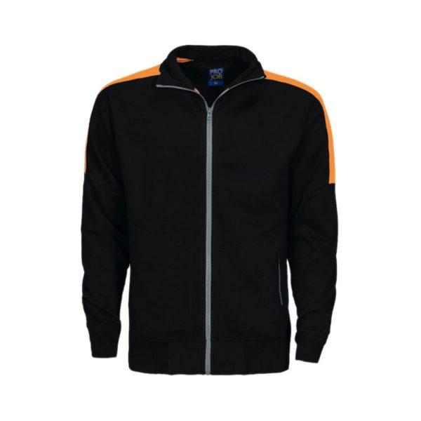 sudadera-projob-2123-negro-naranja