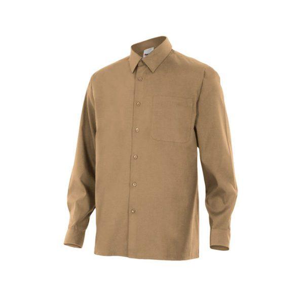 camisa-velilla-529-beige