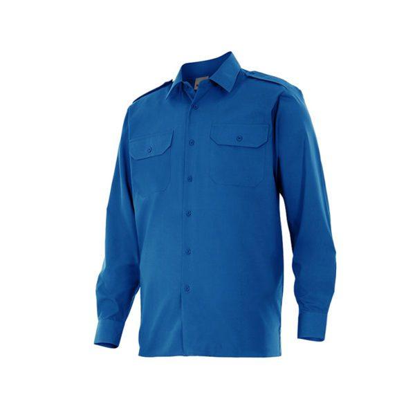 camisa-velilla-530-azul-royal
