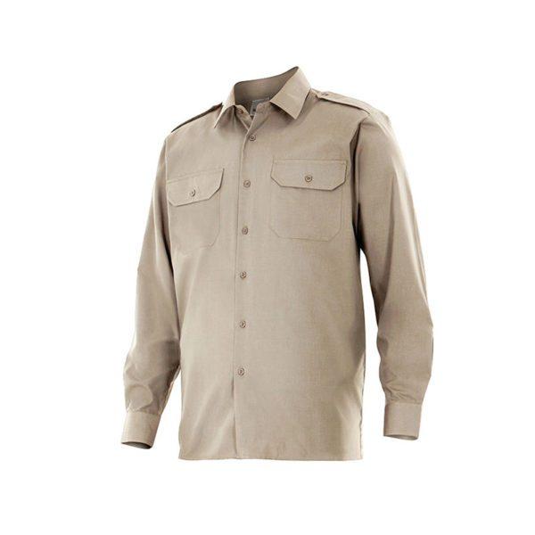 camisa-velilla-530-beige