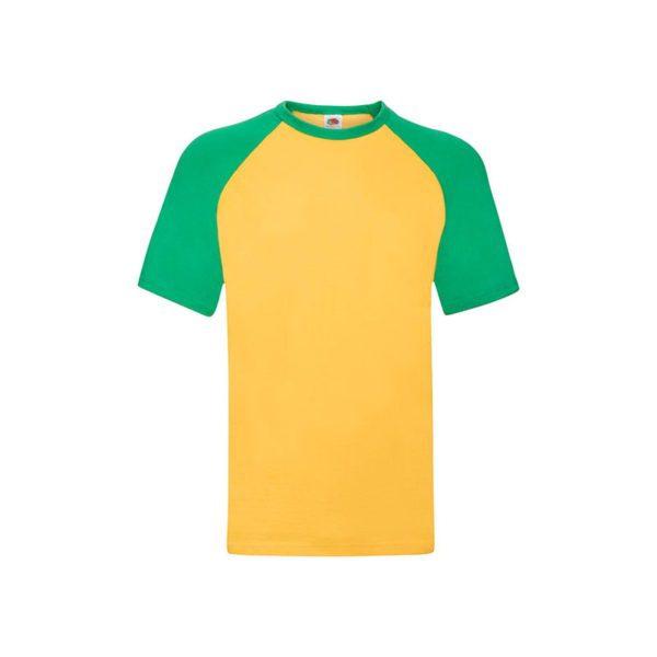 camiseta-fruit-of-the-loom-baseball-t-fr610260-girasol-verde-kelly