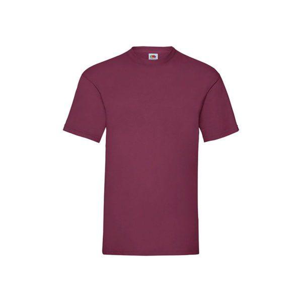 camiseta-fruit-of-the-loom-valueweight-t-fr610360-burdeos