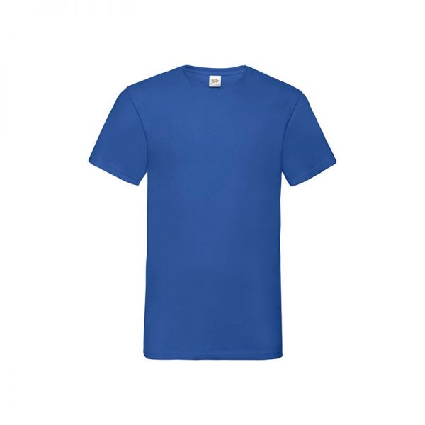 camiseta-fruit-of-the-loom-valueweight-v-neck-t-fr610660-azul-royal