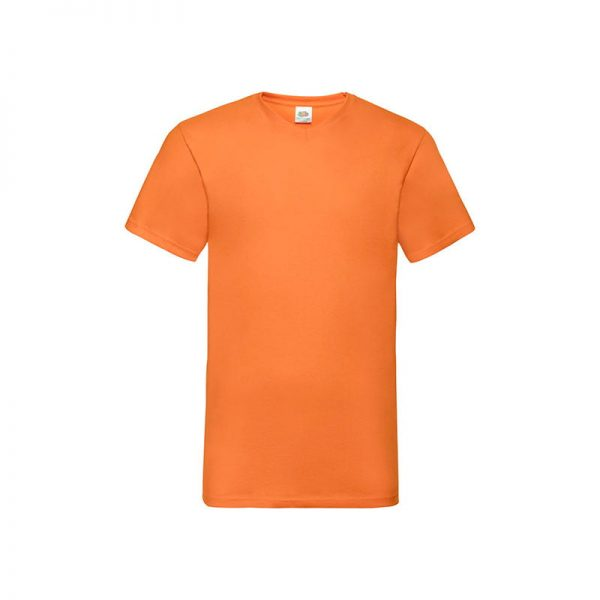 camiseta-fruit-of-the-loom-valueweight-v-neck-t-fr610660-naranja