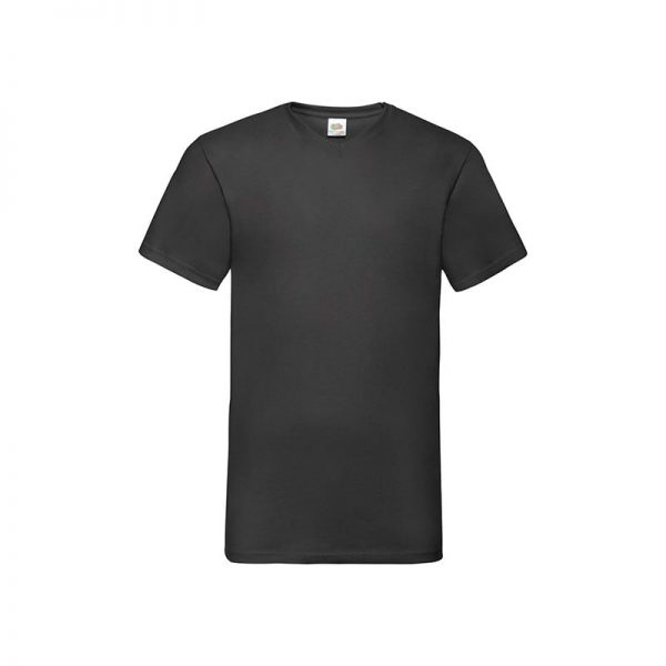 camiseta-fruit-of-the-loom-valueweight-v-neck-t-fr610660-negro