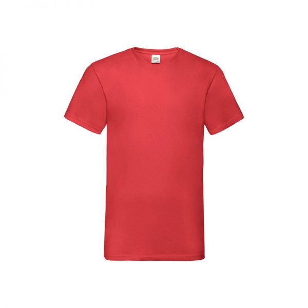 camiseta-fruit-of-the-loom-valueweight-v-neck-t-fr610660-rojo