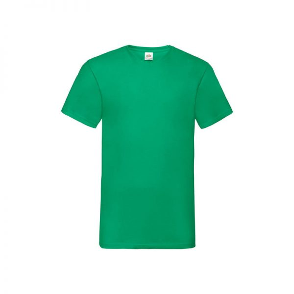 camiseta-fruit-of-the-loom-valueweight-v-neck-t-fr610660-verde-kelly