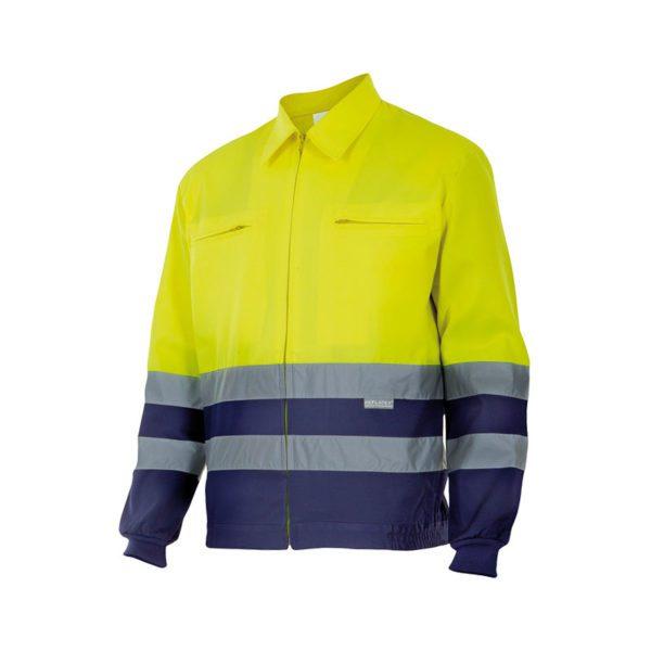 chaqueta-alta-visibilidad-velilla-153-amarillo-marino