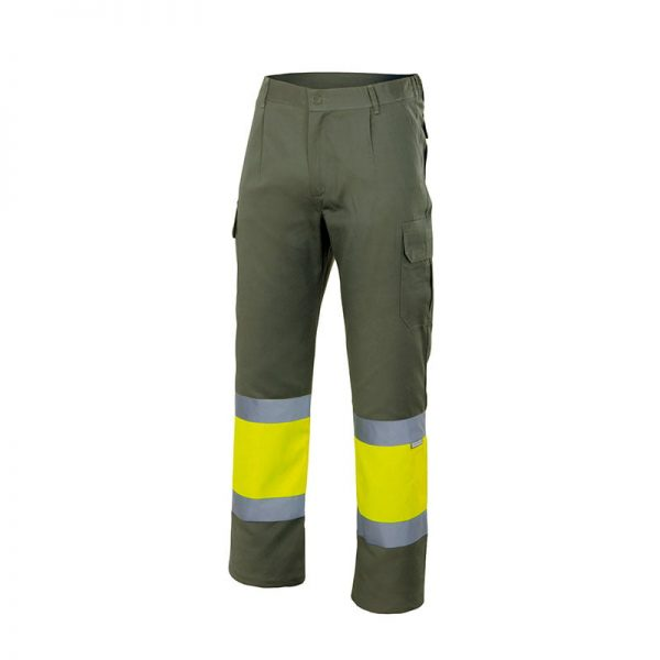 pantalon-velilla-alta-visibilidad-157-verde-caza-amarillo