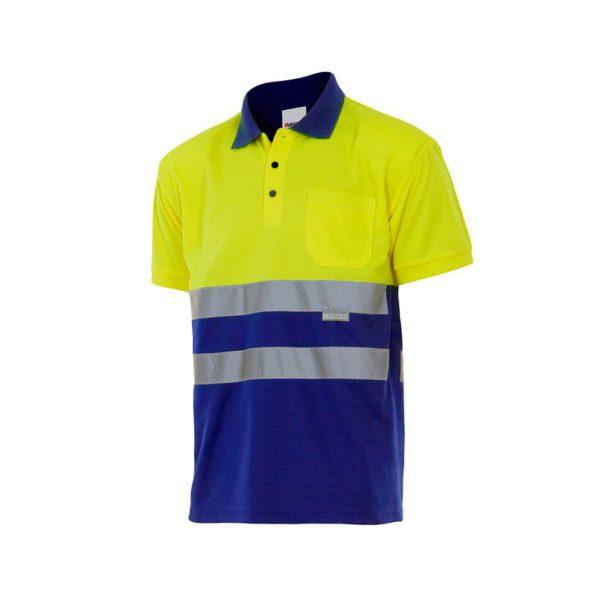polo-velilla-alta-visibilidad-173-azulina-amarillo