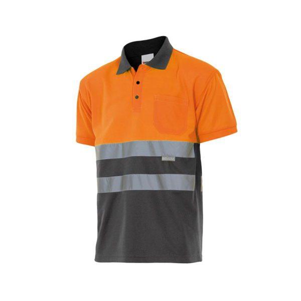 polo-velilla-alta-visibilidad-173-gris-naranja