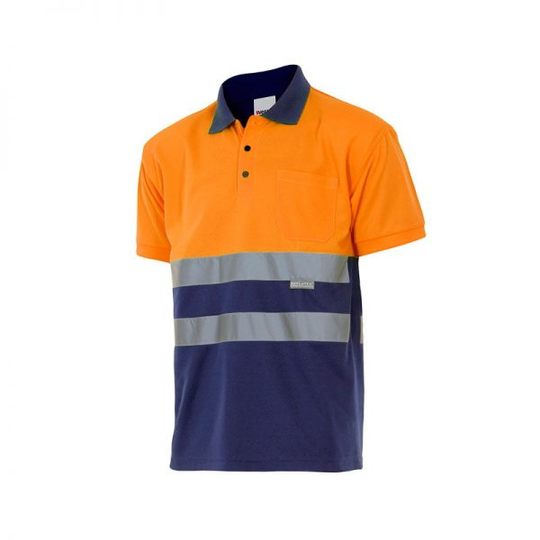 polo-velilla-alta-visibilidad-173-marino-naranja