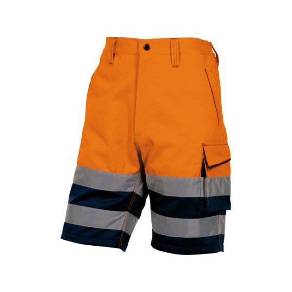 bermuda-deltaplus-alta-visibilidad-phber-naranja-fluor