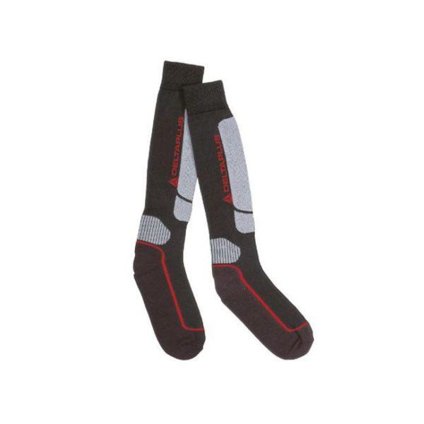 calcetin-deltaplus-prato-negro-gris