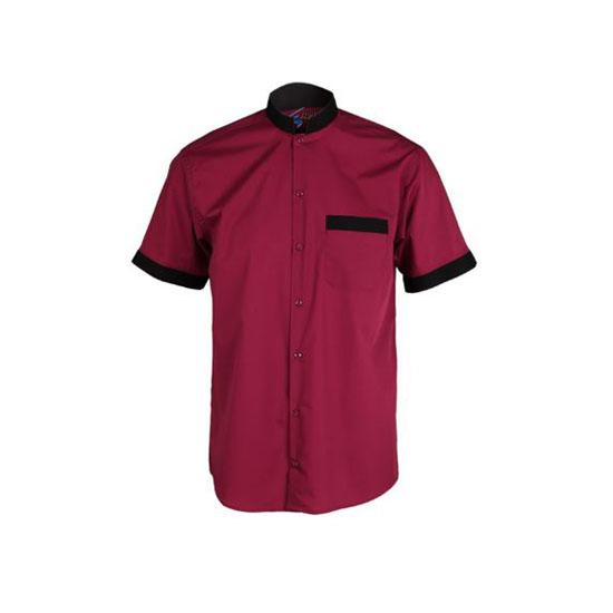 camisa-garys-2662-burdeos-negro