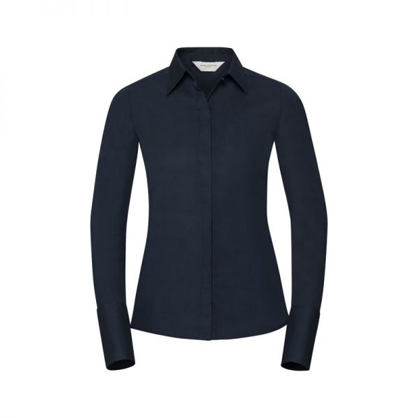 camisa-russell-960f-azul-marino-brillante