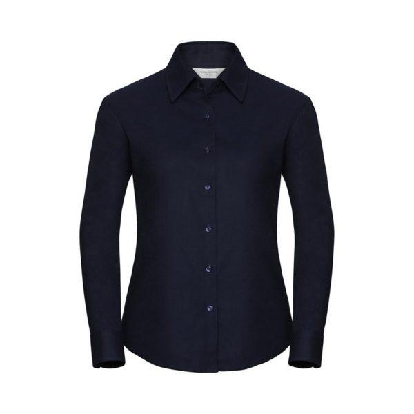 camisa-russell-oxford-932f-azul-marino-brillante