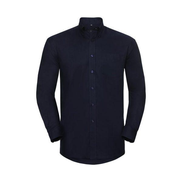 camisa-russell-oxford-932m-azul-marino-brillante