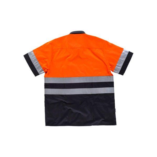 camisa-workteam-alta-visibilidad-c3811-azul-marino-naranja