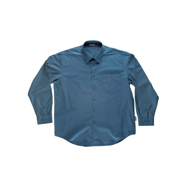 camisa-workteam-b8000-azul-azafata