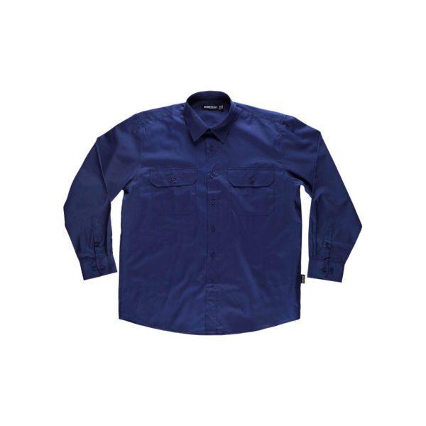 camisa-workteam-b8001-azul-marino