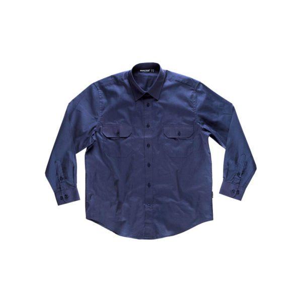 camisa-workteam-b8200-azul-marino