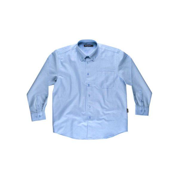 camisa-workteam-b8400-azul-celeste